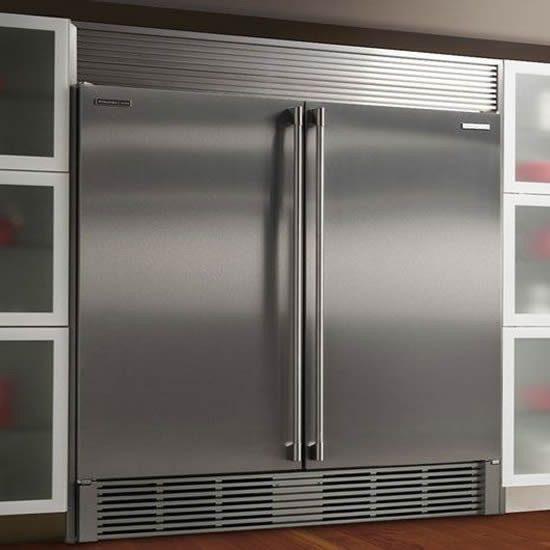 6235_Congelador de Acero Inox, 2 Puertas